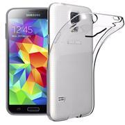 Transparente Schutzhülle für Samsung Galaxy S5 Mini Backcover Hülle