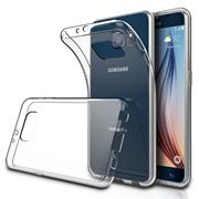 Schutzhülle für Samsung Galaxy S6 Edge Plus Hülle Silikon Backcover Ultra-Clear Case im transparenten Design