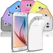 Transparente Schutzhülle für Samsung Galaxy S6 Edge Backcover Hülle