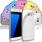 Schutzhülle für Samsung Galaxy S7 Edge Hülle Silikon Backcover Ultra-Clear Case im transparenten Design