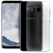 Schutzhülle für Samsung Galaxy S8 Plus Hülle Silikon Backcover Ultra-Clear Case im transparenten Design