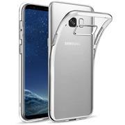 Schutzhülle für Samsung Galaxy S8 Hülle Transparent Slim Cover Clear Case