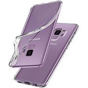 Schutzhülle für Samsung Galaxy S9 Plus Hülle Silikon Backcover Ultra-Clear Case im transparenten Design