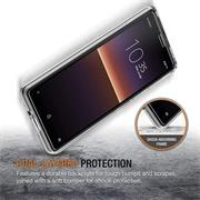 Schutzhülle für Sony Xperia 10 IIII Hülle Transparent Slim Cover Clear Case