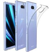 Schutzhülle für Sony Xperia 10 Hülle Transparent Slim Cover Clear Case