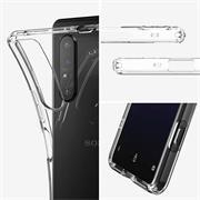 Schutzhülle für Sony Xperia 1 II Hülle Transparent Slim Cover Clear Case