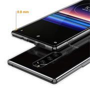 Schutzhülle für Sony Xperia 1 Hülle Transparent Slim Cover Clear Case