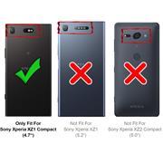 Schutzhülle für Sony Xperia XZ1 Compact Hülle Transparent Slim Cover Clear Case