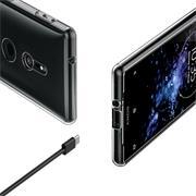 Transparente Schutzhülle für Sony Xperia XZ2 Ultra-Clear Backcover