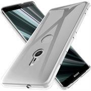 Schutzhülle für Sony Xperia XZ3 Hülle Silikon Backcover Ultra-Clear Case im transparenten Design