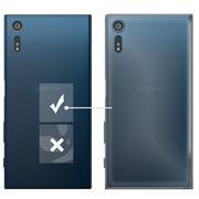 Schutzhülle für Sony Xperia XZ Hülle Transparent Slim Cover Clear Case