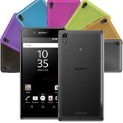 Schutzhülle für Sony Xperia Z5 Hülle Silikon Backcover Ultra-Clear Case im transparenten Design