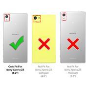 Schutzhülle für Sony Xperia Z5 Hülle Transparent Slim Cover Clear Case