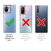 Schutzhülle für Xiaomi Mi 11 Hülle Transparent Slim Cover Clear Case