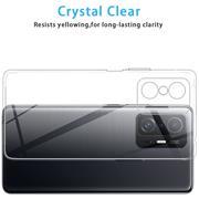 Schutzhülle für Xiaomi Mi 11T / 11T Pro Hülle Transparent Slim Cover Clear Case