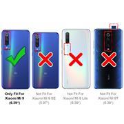 Schutzhülle für Xiaomi Mi 9 Hülle Transparent Slim Cover Clear Case