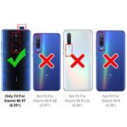 Schutzhülle für Xiaomi Mi 9T Hülle Transparent Slim Cover Clear Case