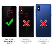 Schutzhülle für Xiaomi Mi Mix 2 Hülle Transparent Slim Cover Clear Case