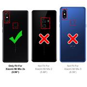 Schutzhülle für Xiaomi Mi Mix 2s Hülle Transparent Slim Cover Clear Case