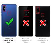 Schutzhülle für Xiaomi Mi Mix 3 Hülle Transparent Slim Cover Clear Case
