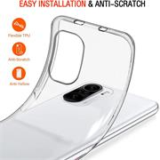 Schutzhülle für Xiaomi Poco F3 / Mi 11i Hülle Transparent Slim Cover Clear Case