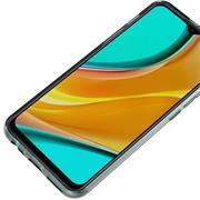 Schutzhülle für Xiaomi Redmi 9 Hülle Transparent Slim Cover Clear Case