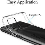Schutzhülle für Xiaomi Redmi 9T Hülle Transparent Slim Cover Clear Case