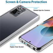 Schutzhülle für Xiaomi Redmi Note 10 Pro Hülle Transparent Slim Cover Clear Case