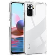 Schutzhülle für Xiaomi Redmi Note 10 Hülle Transparent Slim Cover Clear Case