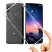 Schutzhülle für Xiaomi Redmi Note 6 Pro Hülle Transparent Slim Cover Clear Case
