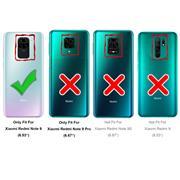 Schutzhülle für Xiaomi Redmi Note 9 Hülle Transparent Slim Cover Clear Case