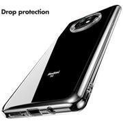 Schutzhülle für Xiaomi Redmi Note 9T Hülle Transparent Slim Cover Clear Case