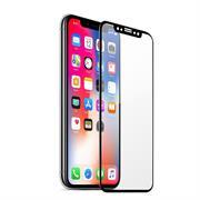 5D Curved Fullscreen Glasfolie für Apple iPhone X / XS Schutzfolie gewölbt Glas Folie