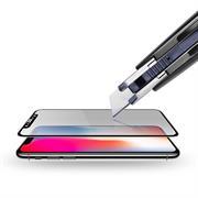 5D Curved Fullscreen Glasfolie für Apple iPhone XR Schutzfolie gewölbt Glas Folie in Schwarz