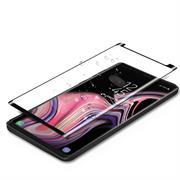 Full Glue Fullscreen Glasfolie für Samsung Galaxy Note 9 Schutzfolie gewölbt Glas Folie in Schwarz