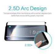 Full Glue Fullscreen Glasfolie für Samsung Galaxy S9 Plus Schutzfolie gewölbt Glas Folie in Schwarz
