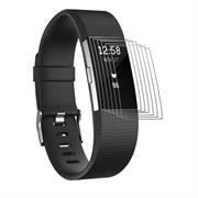 6x Schutzfolie für Fitbit Charge 2 Display Schutz Panzerfolie