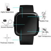 6x Schutzfolie für Fitbit Versa Display Schutz Panzerfolie