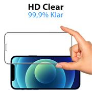 Full Screen Panzerglas für Apple iPhone 12 Mini Schutzfolie Glas Vollbild Panzerfolie