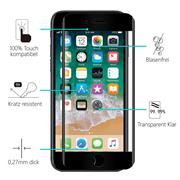 Full Screen Panzerglas für Apple iPhone 6 / 6S Schutzfolie Glas Vollbild Panzerfolie