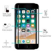 Full Screen Panzerglas für Apple iPhone 7 / 8 / SE 2 Schutzfolie Glas Vollbild Panzerfolie