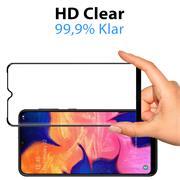 Full Screen Panzerglas für Samsung Galaxy A02s Schutzfolie Glas Vollbild Panzerfolie