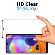 Full Screen Panzerglas für Samsung Galaxy A31 Schutzfolie Glas Vollbild Panzerfolie