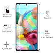 Full Screen Panzerglas für Samsung Galaxy A72 5G Schutzfolie Glas Vollbild Panzerfolie