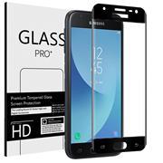 Full Screen Panzerglas für Samsung Galaxy J7 2017 Schutzfolie Glas Vollbild Panzerfolie