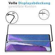 Full Screen Panzerglas für Samsung Galaxy Note 20 Schutzfolie Glas Vollbild Panzerfolie