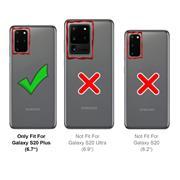 Full Screen Panzerglas für Samsung Galaxy S20 Plus Schutzfolie Glas Vollbild Panzerfolie