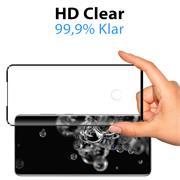 Full Screen Panzerglas für Samsung Galaxy S20 Ultra Schutzfolie Glas Vollbild Panzerfolie