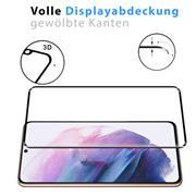 Full Screen Panzerglas für Samsung Galaxy S21 Schutzfolie Glas Vollbild Panzerfolie
