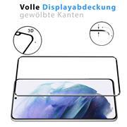 Full Screen Panzerglas für Samsung Galaxy S21 Ultra Schutzfolie Glas Vollbild Panzerfolie